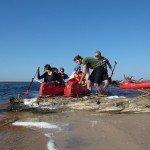 kanoe laivu noma Irbe